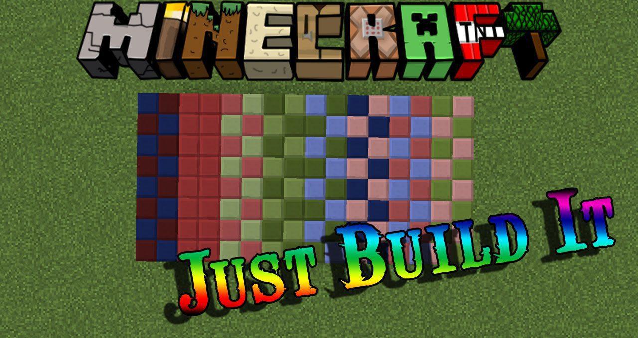 Just Build It Mod 1 12 2/1 11 2 (More Unique Building Blocks