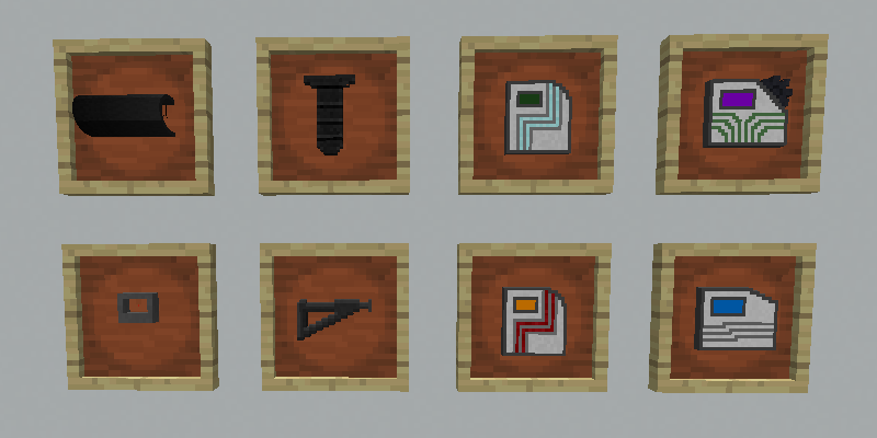Mechanization Data Pack Crafting 48
