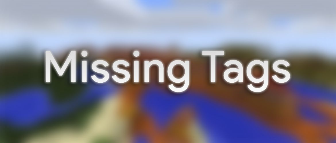 Missing Tags Data Pack Thumbnail