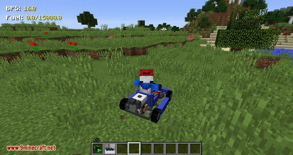 Mr.Crayfish Vehicle Spawner mod for minecraft 04