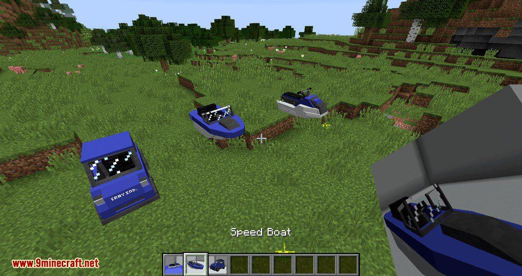 Mr.Crayfish Vehicle Spawner mod for minecraft 08