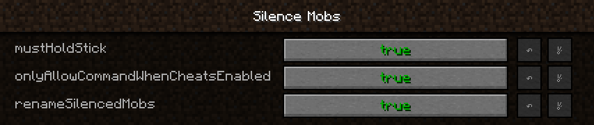 Silence Mobs mod for minecraft 08