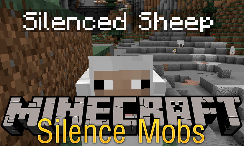 Silence Mobs mod for minecraft logo