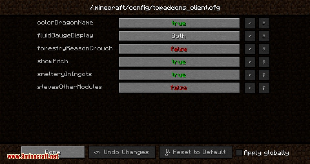 TOP Addons mod for minecraft 02