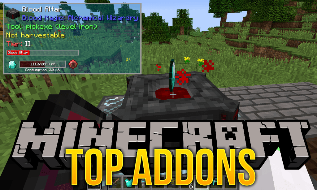 TOP Addons mod for minecraft logo