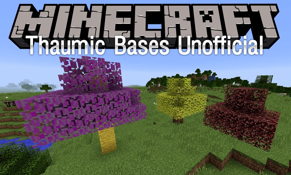 Thaumic Bases Unofficial mod for minecraft logo