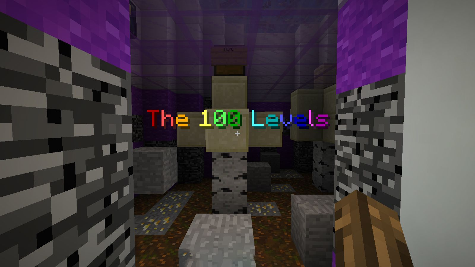 The 100 Levels Map 1 13 2 for Minecraft - 9Minecraft Net