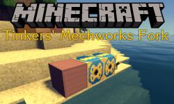 Tinkers Mechworks Fork mod for minecraft logo