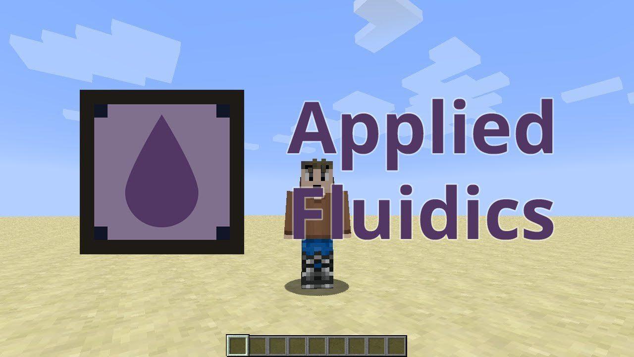 Applied Fluidics Mod 1.12.2 (Fluid Handling for AE2)