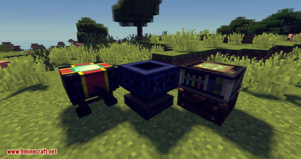 Artisan Worktables mod for minecraft 02