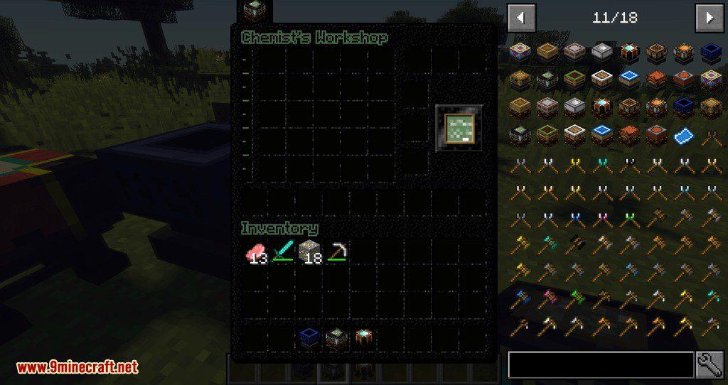 Artisan Worktables mod for minecraft 05
