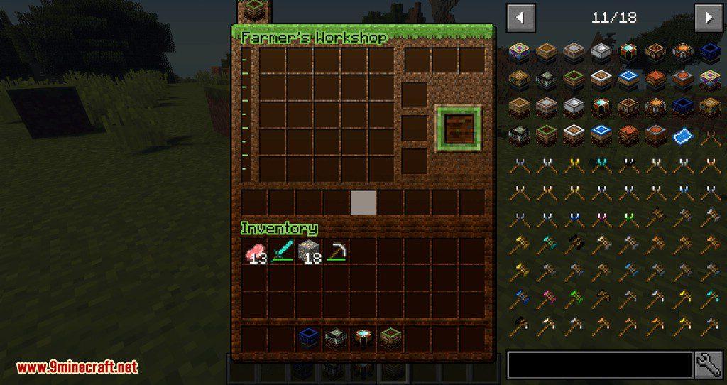 Artisan Worktables mod for minecraft 06