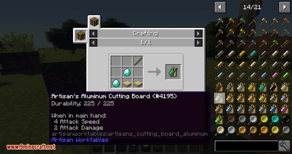 Artisan Worktables mod for minecraft 07