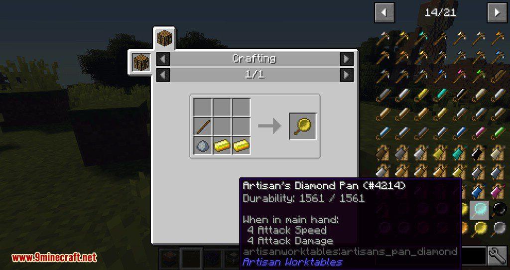 Artisan Worktables mod for minecraft 08
