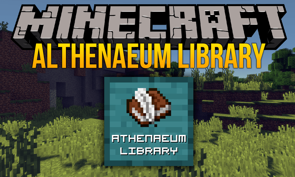 Athenaeum mod for minecraft logo