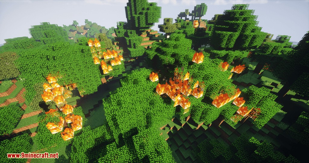 Controlled Burn mod for minecraft 02