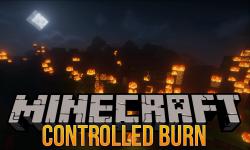 Controlled Burn mod for minecraft logo