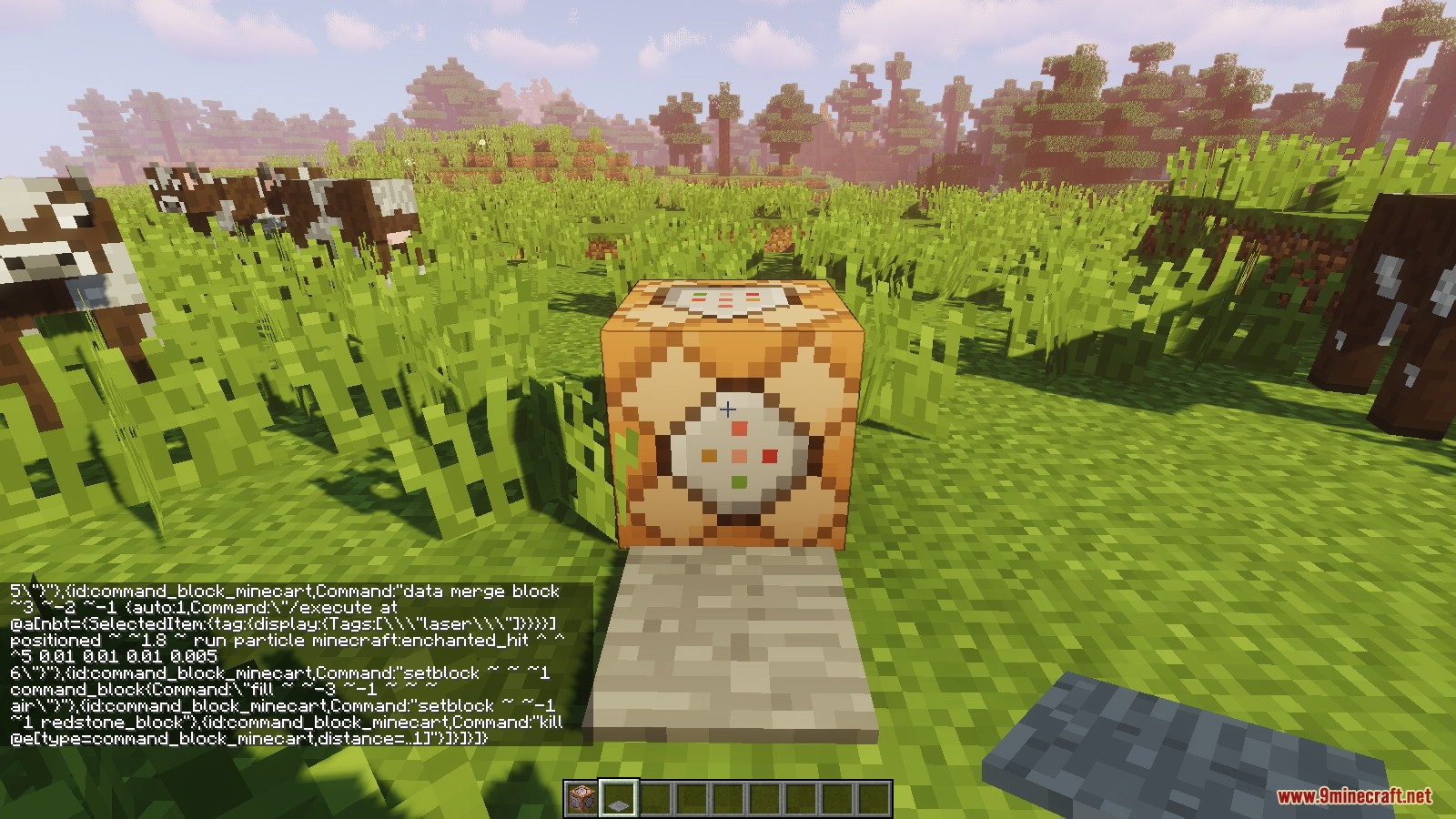 minecraft 1.13 1 command creations