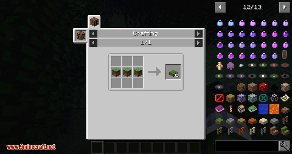 Dirt Deco mod for minecraft 01