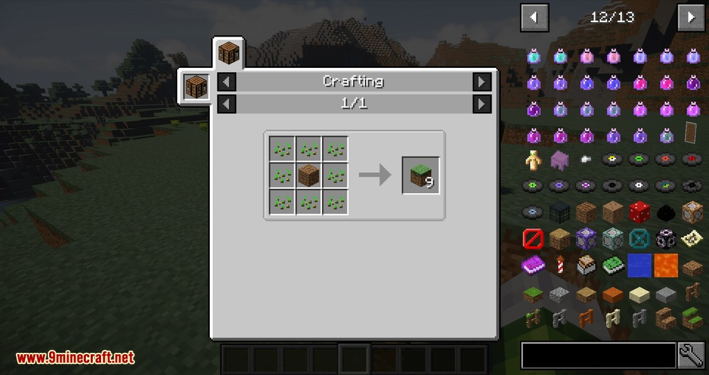 Dirt Deco mod for minecraft 07
