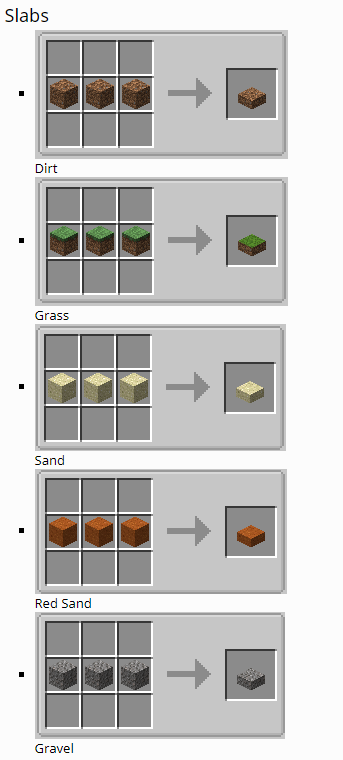 Dirt Deco mod for minecraft 11