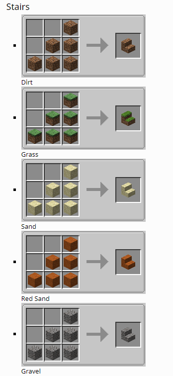 Dirt Deco mod for minecraft 12