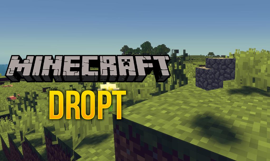 Dropt mod for minecraft logo