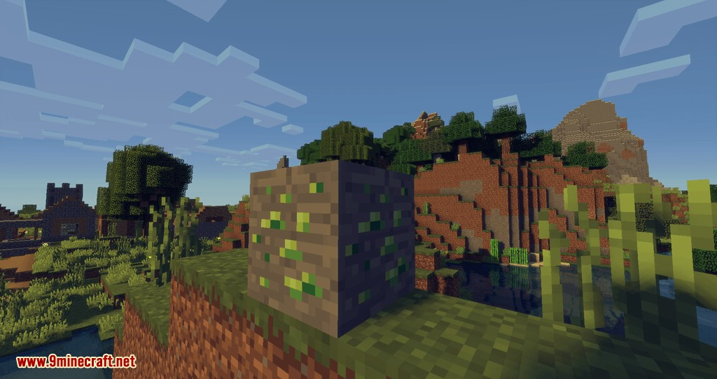 Experience Ore mod for minecraft 02