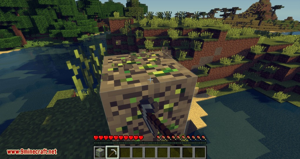 Experience Ore mod for minecraft 03