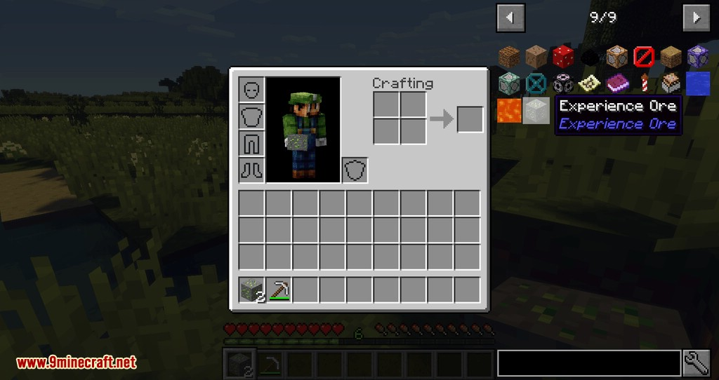 Experience Ore mod for minecraft 07
