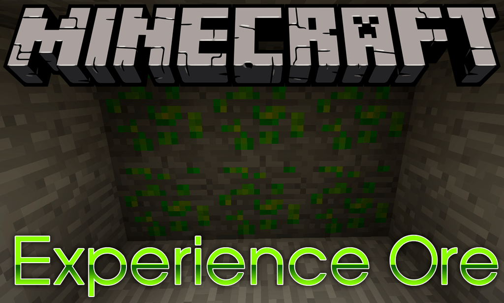 Experience Ore mod for minecraft logo