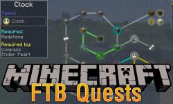 FTB Quests mod for minecraft logo