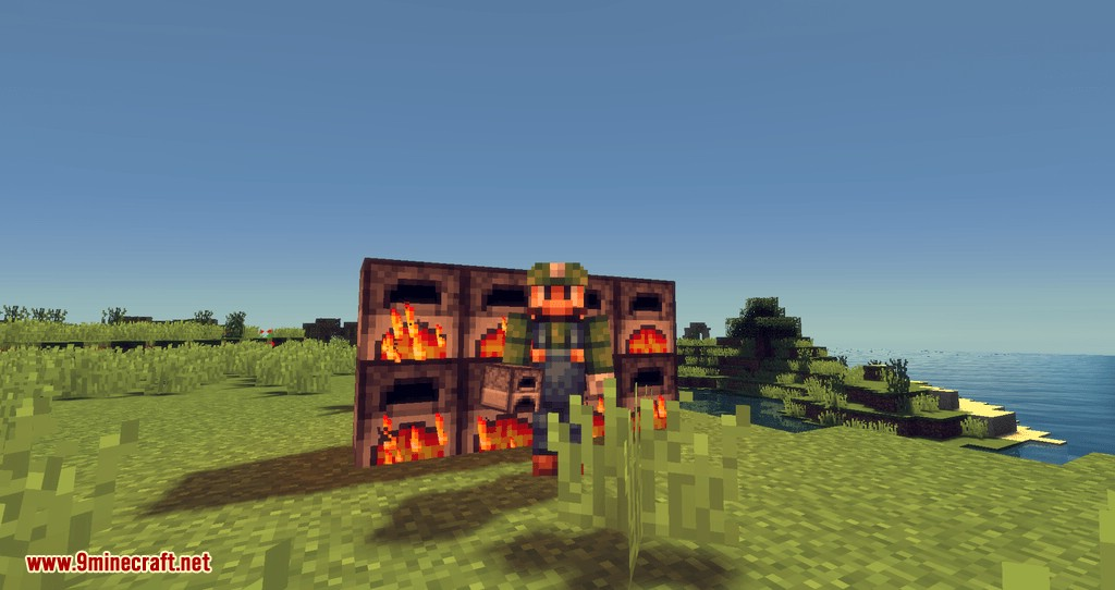 Fast Furnace mod for minecraft 07