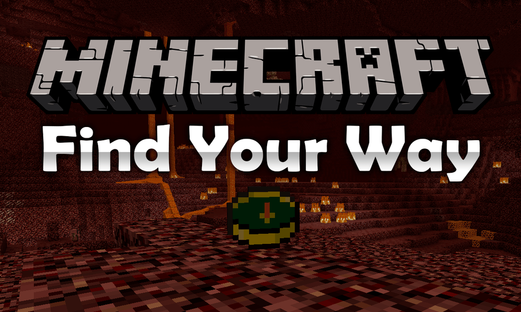 Find Your Way mod for minecraft logo