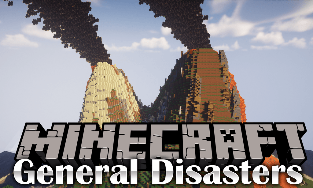 General Disasters Mod 1 12 2 (Earthquake, Volcano, Sinkhole