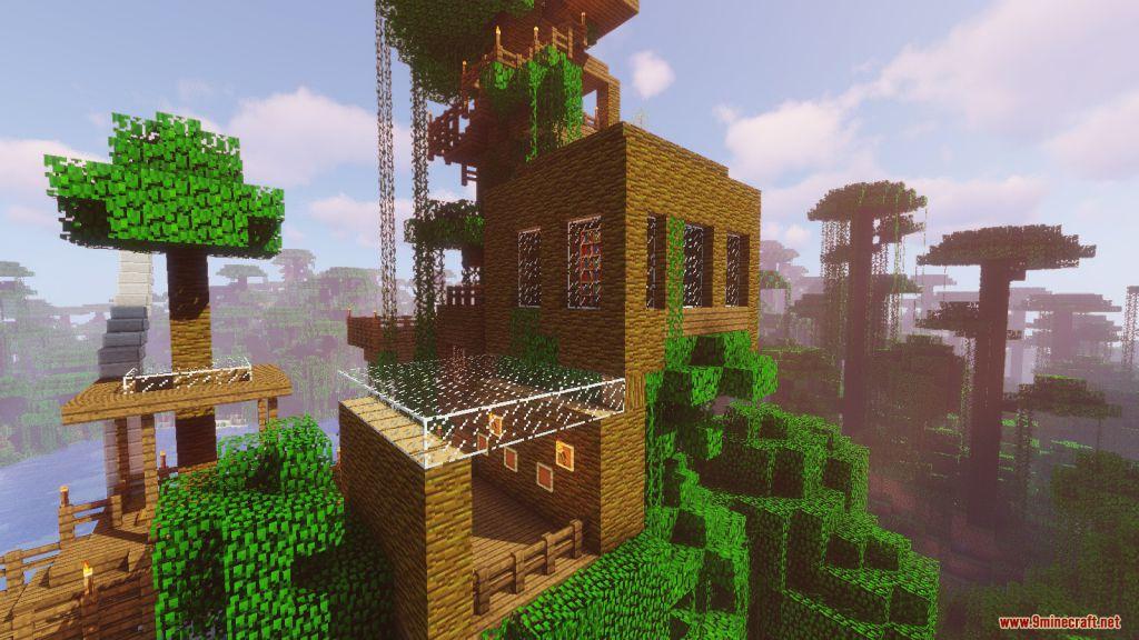 Happy Treehouse Survival Map Screenshots (10)