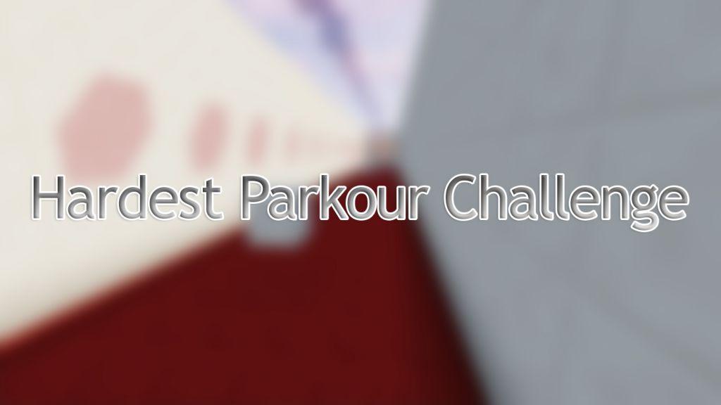 Hardest Parkour Challenge Map Thumbnail