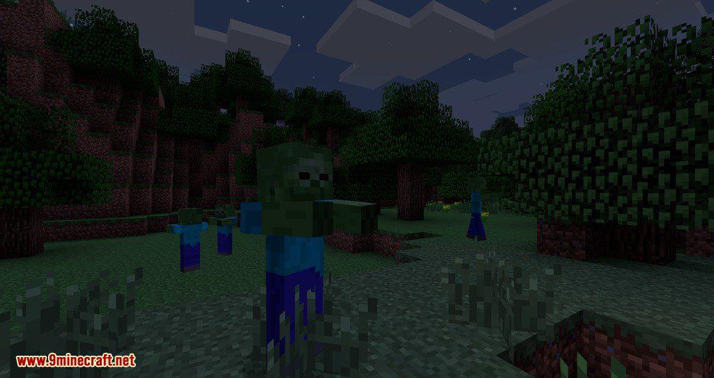 Hostile Worlds Monsters mod for minecraft 01