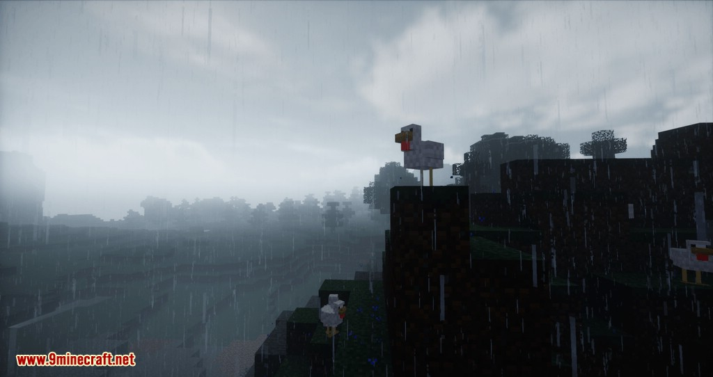 Hydrophobia mod for minecraft 11