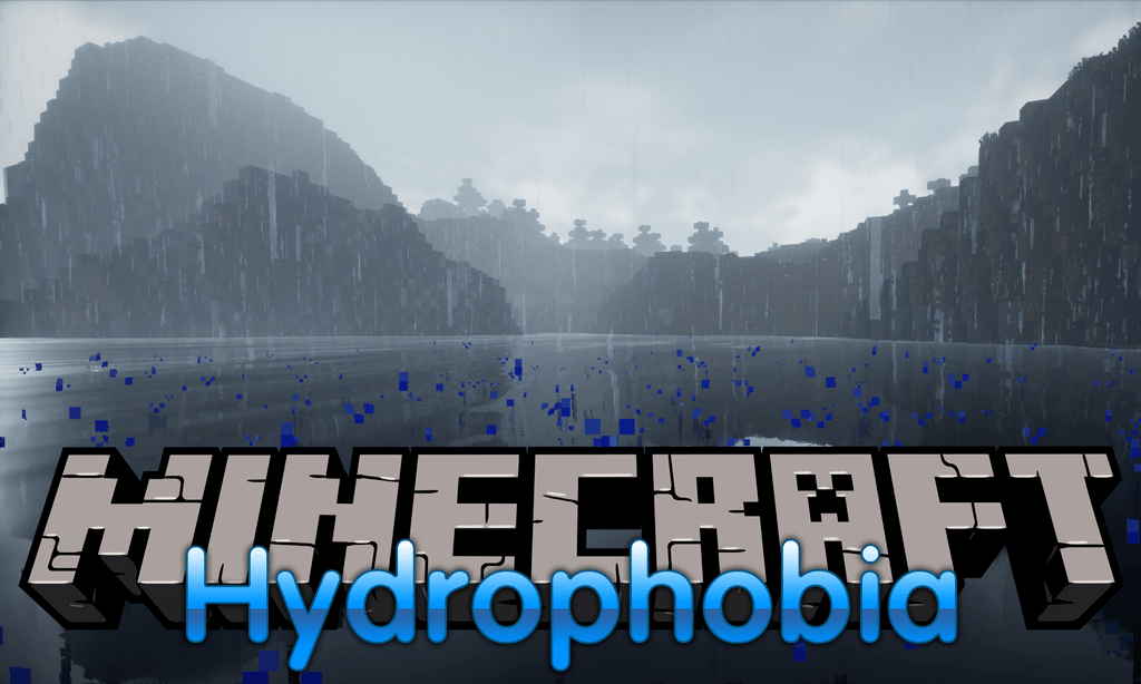 Hydrophobia mod for minecraft logo