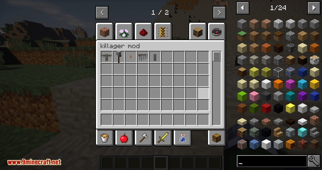 Killager Mod for minecraft 01