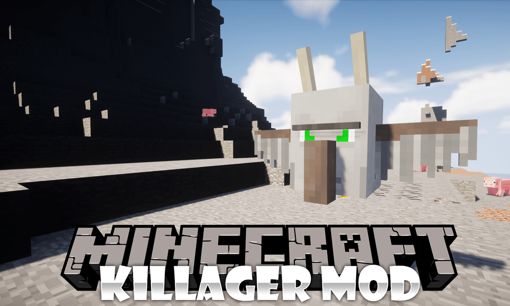 Killager Mod for minecraft logo