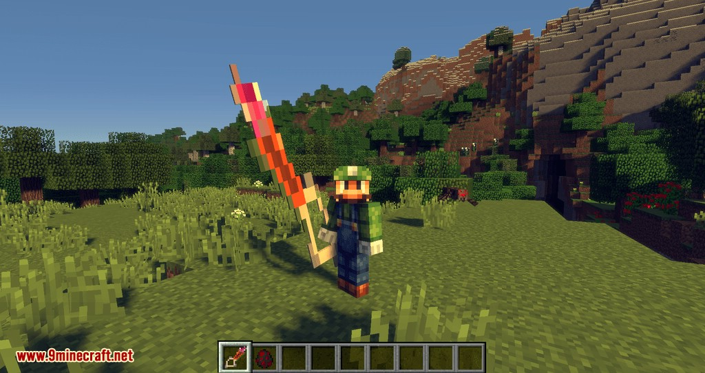 Legendary Weapons Mod for minecraft 03
