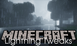 Lightning Tweaks mod for minecraft logo