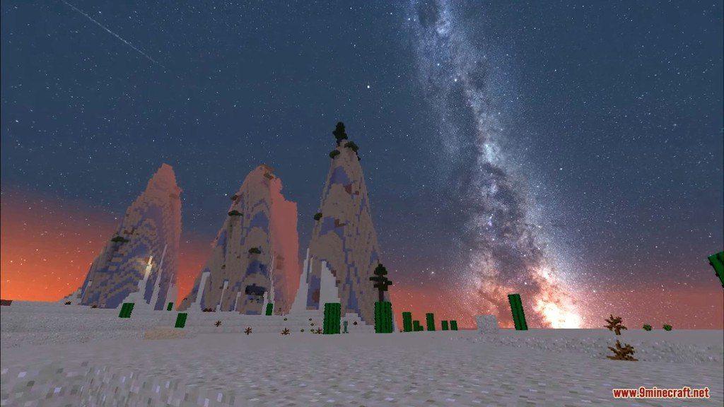 Milky Way Galaxy Resource Pack Screenshots 4