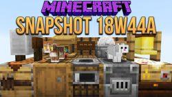 Minecraft 1.14 Snapshot 18w44a