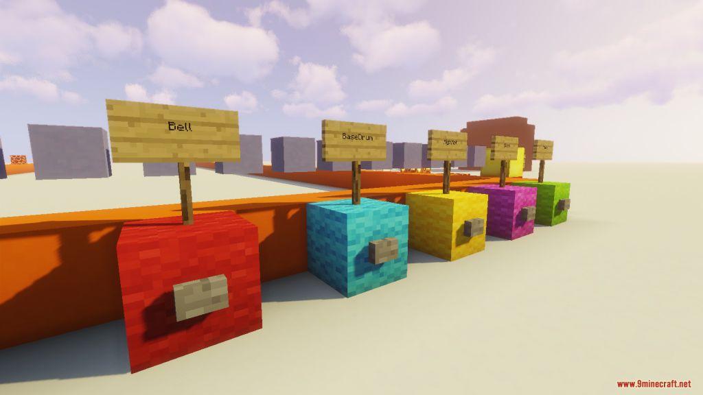 Minecraft MusicMaker Map Screenshots (2)