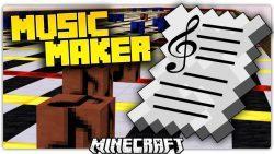 Minecraft MusicMaker Map Thumbnail