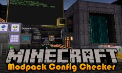 Modpack Config Checker mod for minecraft logo