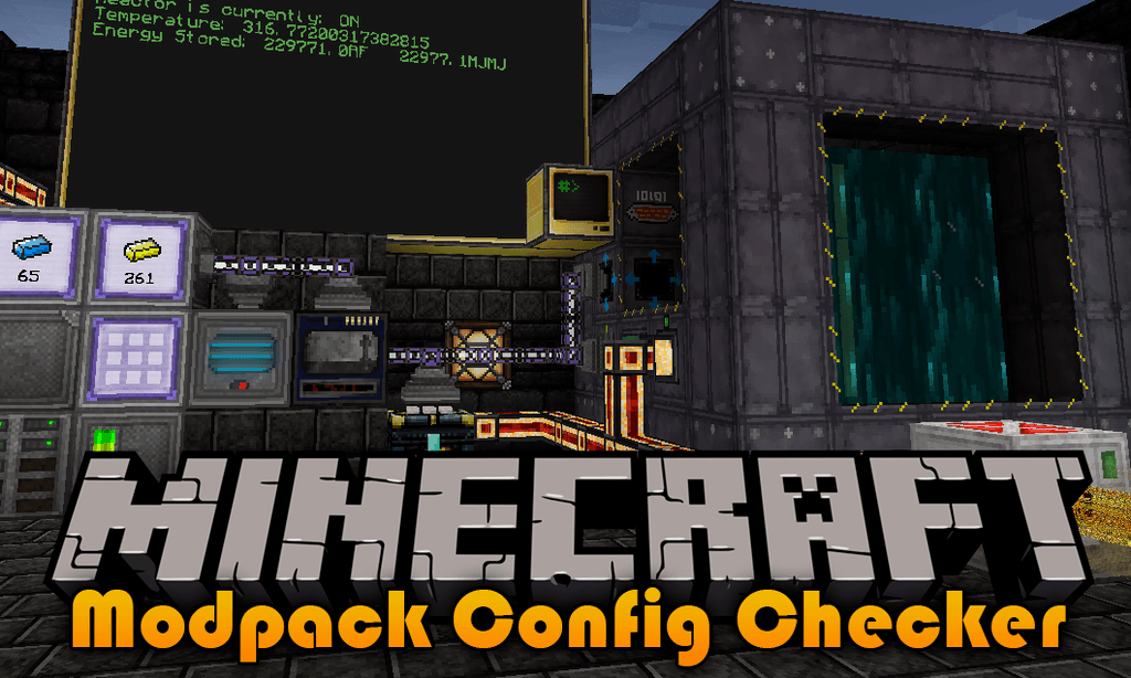 Modpack Configuration Checker Mod 1 14 3/1 12 2 (All Modpack